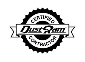 Always look for the Certified DustRam® Contractors seal when shopping for a dustless tile removal specialist.